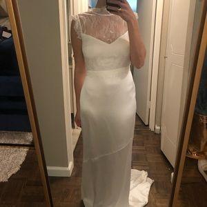 Rachel Zoe white gown